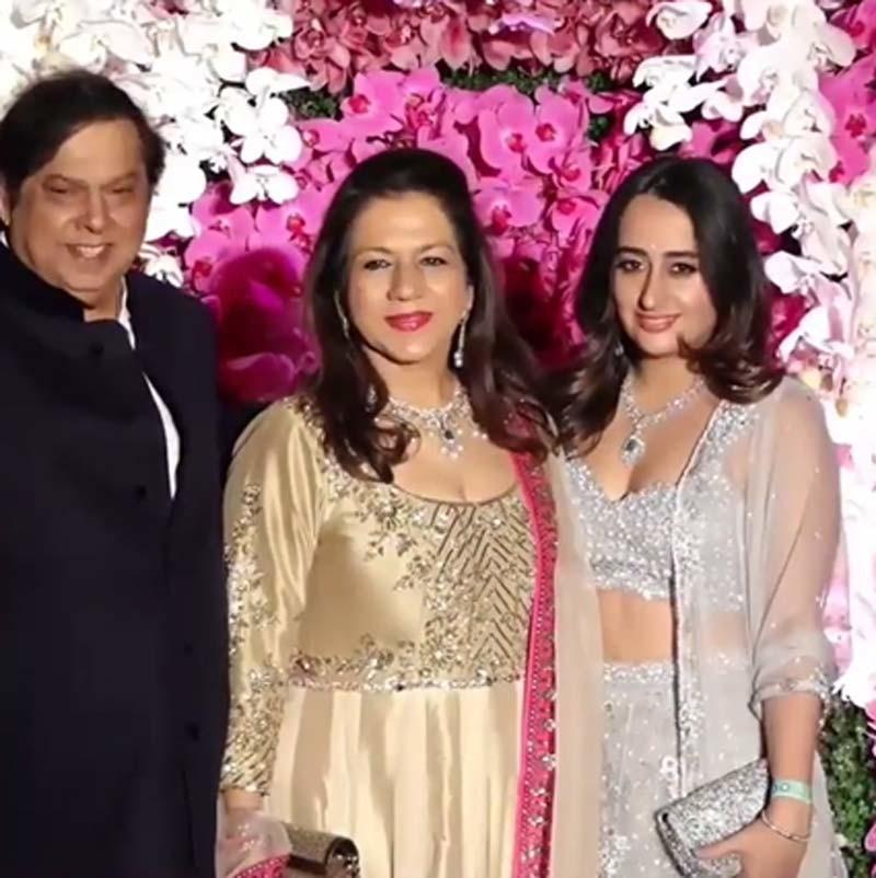 Natasha Dalal With The Dhawan Family