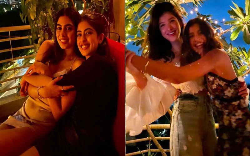 Navya Naveli Nanda Gives A Glimpse Of Her Fun Friday Evening With Besties Khushi Kapoor And Shanaya Kapoor; Seen It Yet?