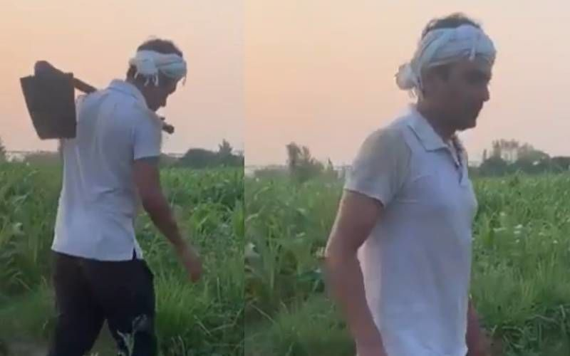 Nawazuddin Siddiqui Enjoys Farming Session In His Hometown Amidst Controversial Separation From His Estranged Wife Aaliya - VIDEO