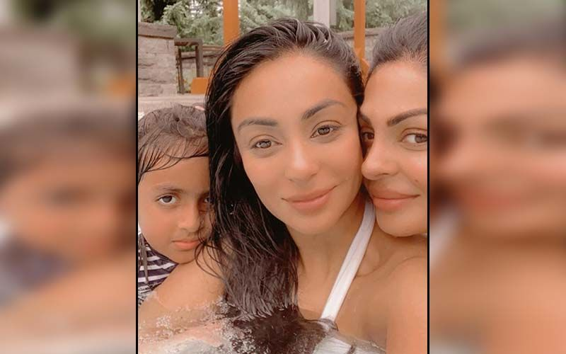 Neeru, Sabrina Bajwa's Selfie Prove That They Are Coolest Sister Duo Of Pollywood