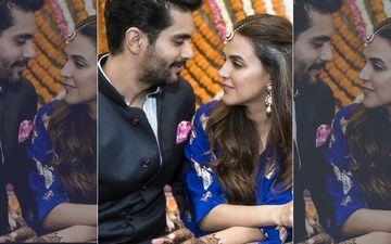 """Still Feel Neha Is My Girlfriend"": Angad Bedi On Couple's 1ST Wedding Anniversary"