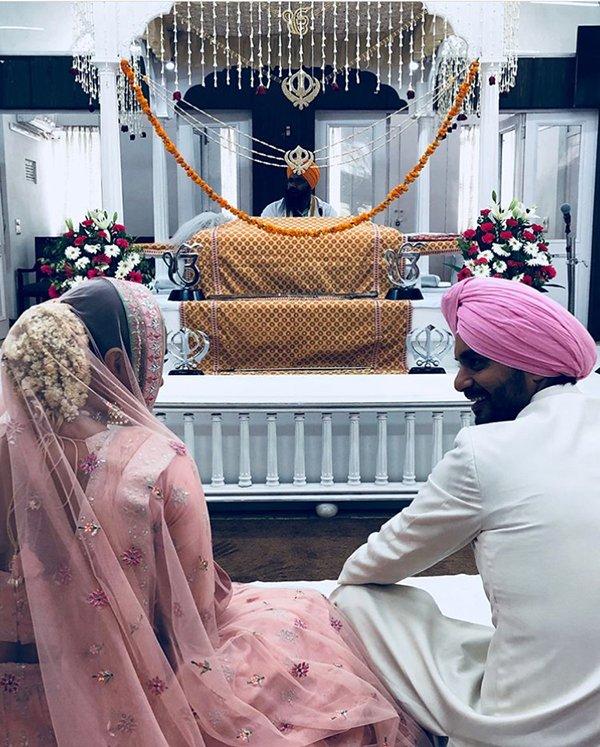 Neha Dhupia Married Angad Bedi