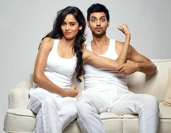 Neha Saxena With Shakti Arora