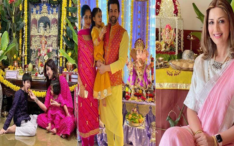 Ganesh Chaturthi 2021: Shilpa Shetty, Ananya Panday, Neil Nitin Mukesh, Sonali Bendre And More Celebs Welcome Ganpati Bappa Into Their Homes