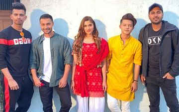 Saiee Manjrekar Pairs With Ayush Sharma For A Brand New Single Coming Soon