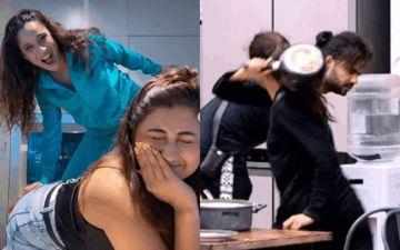 Did Rashami Desai And Ankita Lokhande Just Enact Madhurima Tuli-Vishal Aditya Singh's Butt Spanking Episode From Bigg Boss 13 - Yeah, Sure