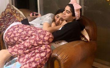 Janhvi Kapoor Cuddling Sister Khushi Kapoor While In Self-Quarantine Is All Things Adorbs - PIC
