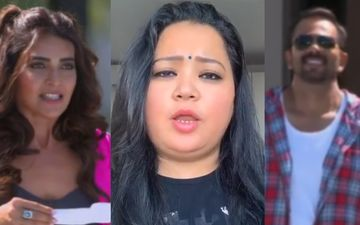 Khatron Ke Khiladi 10: Bharti Singh WARNS Karishma Tanna To Stay Away From Host Rohit Shetty - WATCH