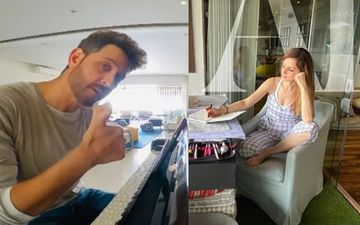 Here's What Hrithik Roshan And Sussanne Khan Are Upto While Quarantined Together