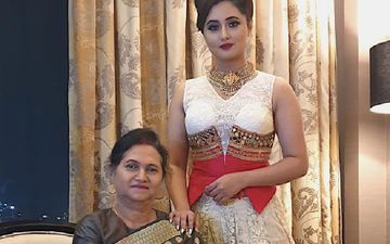 All Is Well Between Rashami Desai And Her Other Mother; BB 13 Star Shares Pictures With Her Quarantine Partner And Family