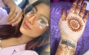 Akanksha Puri Kills Time Applying Mehendi On Her Hands; We Can't Look Past Her Reworked Paras Chhabra Tattoo