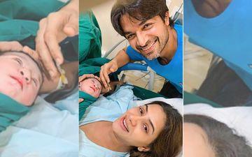 TV Actors Smriti Khanna And Gautam Gupta Pick An Adorable Name For Their Baby Girl; Meet Daddy's Girl Anayka