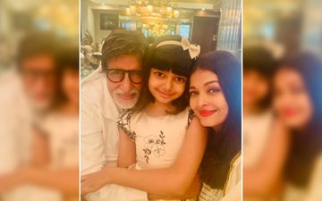 Aishwarya Rai Bachchan Gives A Glimpse Of Amitabh Bachchan's Birthday Bash, Aaradhya's Smile Makes Big B's Heart Melt Into A Puddle - INSIDE Pics