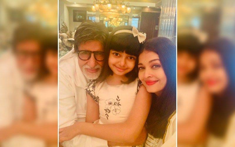 Aishwarya Rai Bachchan Gives A Glimpse Of Amitabh Bachchan's Birthday Bash, Aaradhya's Smile Makes Big B's Heart Melt Into A Puddle - INSIDE Pics