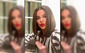 Khloe Kardashian's Silvery Snowy Christmas Tree Is All You Want For This Christmas; Peek Into The Lady's Fancy Décor – See Pics