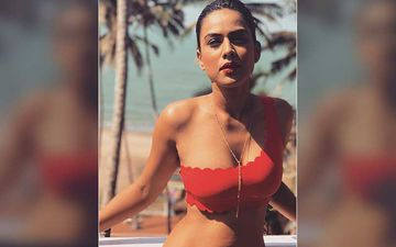TV's Sexy Naagin Nia Sharma Shares Fresh Out Of Shower Look; Dewy Lips Do All The Talking – Pic Inside