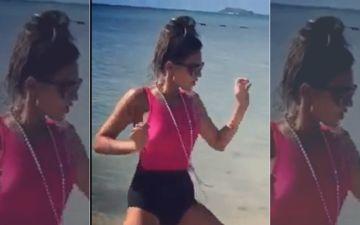 Nia Sharma's Sexy Twerk On The Beach Will Set Your Hearts Racing- Watch Video