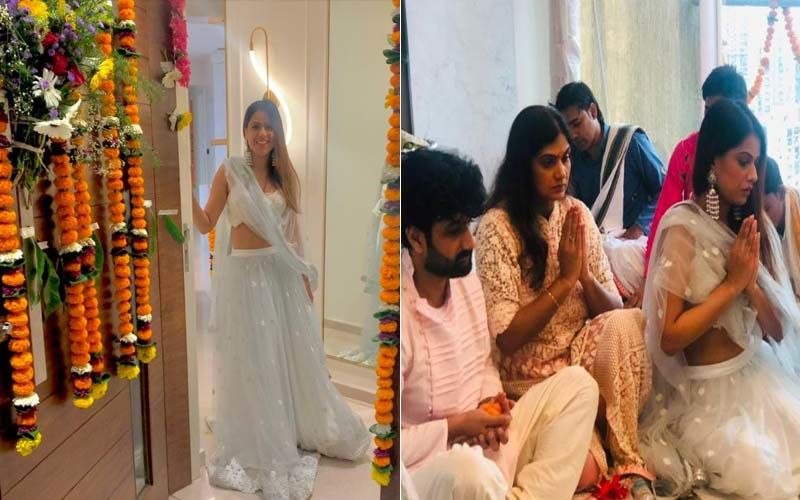 Nia Sharma Beams With Joy As She Moves Into Her New Home; Actress Gives Fans A Glimpse Of The Griha Pravesh Ceremony