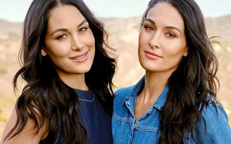 Pregnant Twins Brie And Nikki Bella Talk About FISHY CRAVINGS And Getting Inducted Into WWE Hall of Fame