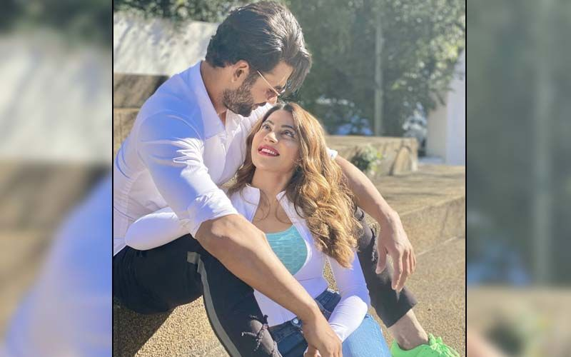 Khatron Ke Khiladi 11 Evicted Contestant Vishal Aditya Singh And Nikki Tamboli Twin In White; Duo Can't Take Their Eyes Off Each Other - See Pics