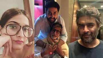 After Amitabh Bachchan, Son Abhishek Bachchan Tests Positive For COVID-19: Sonam Kapoor, R Madhavan, Esha Deol And Others Send Wishes