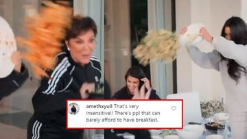Kim Kardashian And Family Slammed For Wasting And Throwing Food In The Name Of Fun; Netizens Call Them Shameless, Disgraceful – VIDEO