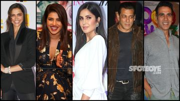 Deepika Padukone, Priyanka Chopra, Katrina Kaif Dominate The Top Actress' Spot, While Salman Khan- Akshay Rule The Recent Poll