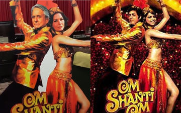 Om Shanti Om 2 Poster Reveal: Catherine Zeta Jones - Michael Douglas As Deepika Padukone - SRK Are Too Good