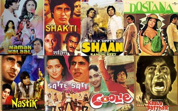 On Superstar Amitabh Bachchan's 47th Bollywood Anniversary, Here Are 47 Of His Best Roles