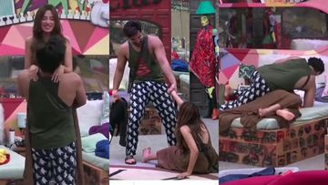 Bigg Boss 13 UNSEEN UNDEKHA: Paras Chhabra Climbs On TOP Of Mahira Sharma In Bed, Leaving Her Breathless-VIDEO