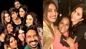 INSIDE PICS- Priyanka Chopra Wears A 'Knotty' Naughty Top For Party Night With Katrina Kaif, Ayushmann Khurrana, Kriti Sanon
