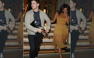 Priyanka Chopra And Nick Jonas Are All About Belly Laughs At Late Night Date In London. What's The Joke, Guys?