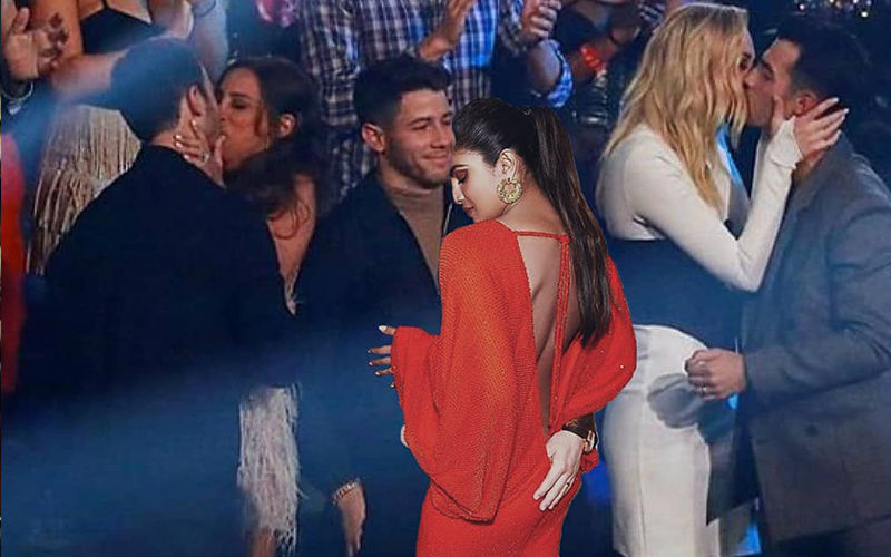 Priyanka Chopra Jumps In On The Meme Game, Hilariously Photoshops Herself Into Nick's Awkward Loner Moment