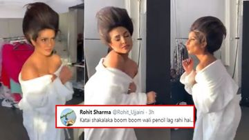Priyanka Chopra Dancing In Her Crazy Hairdo Invites Trolls; Netizens Compare The Actress To Jimmy Neutron, Shaka Laka Boom Boom Pencil