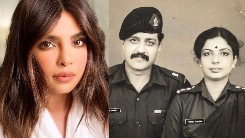 Priyanka Chopra Pays Tribute To Her Parents For Serving In The Indian Army; Shares Their UNSEEN Pic To Celebrate Memorial Day