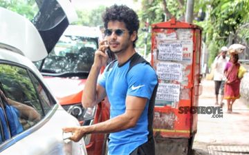 'Dhadak' Star Ishaan Khatter Spotted With His Cool Swag In Mumbai As He Stepped Out For A Quick Meal