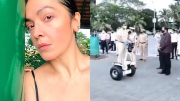 Pooja Bhatt On Mumbai Police's Video Showing Cops Riding Segways At Nariman Point Promenade, 'Shouldn't The Officers Be Wearing Helmets?'