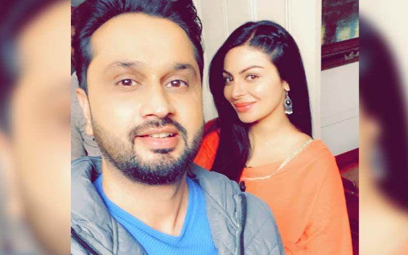 Roshan Prince Shares Pic With Neeru Bajwa From His Upcoming Film Beautiful Billo