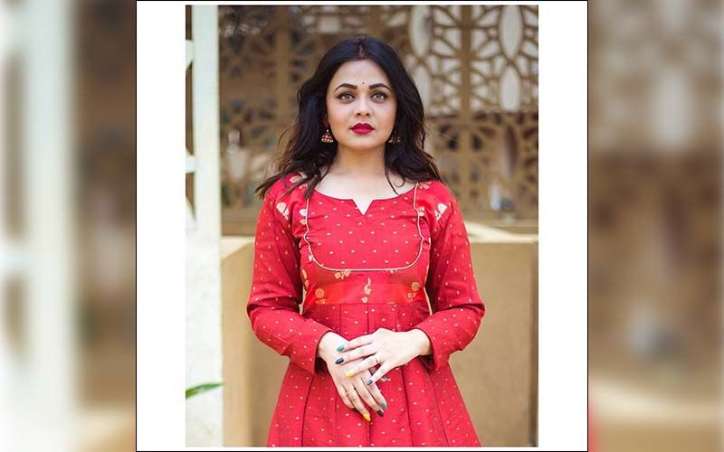 Prarthana Behere Head Tuner Look In This Red Anarkali Will Blow Your Mind