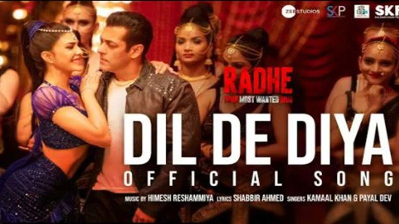 Radhe: Your Most Wanted Bhai's Dil De Diya Song Teaser Out - Salman Khan And Jacqueline Fernandez Promise Lots Of Entertainment