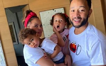 John Legend's Wife Chrissy Teigen Undergoes Surgery To Remove Her Breast Implants; Daughter Luna Pens Postcard Saying 'Bye Boobies'