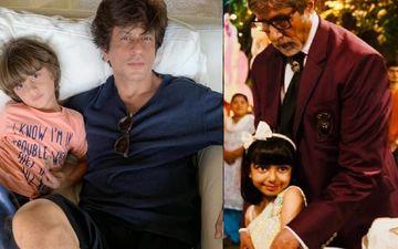 Shah Rukh Khan Picks AbRam - Aaradhya Bachchan's Pair To Be Next SRK-Kajol; Amitabh Bachchan Blesses 'Unke Mooh Mein Ghee Shakkar'