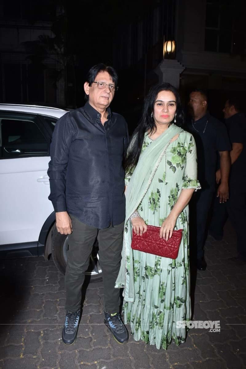 Padmini Kohlapure With Her Husband Pradeep Sharma