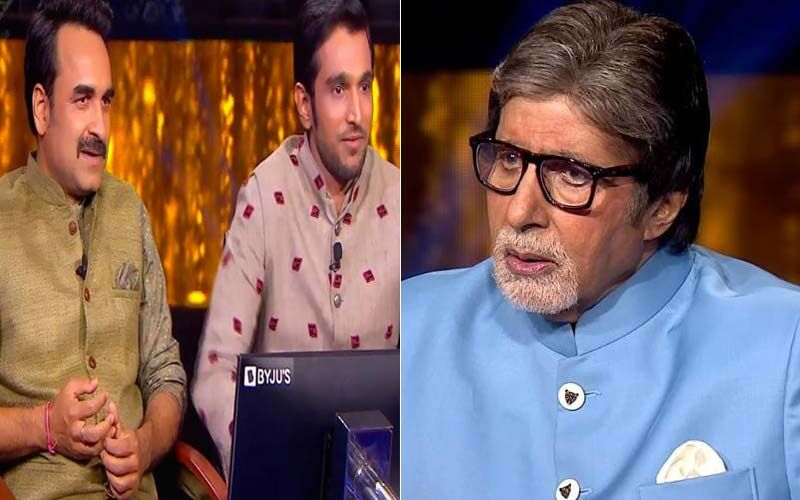 Kaun Banega Crorepati 13: Pratik Gandhi Asks Amitabh Bachchan Hilarious Questions; Pankaj Tripathi Shares A Funny Story About His First Love Letter-WATCH Videos