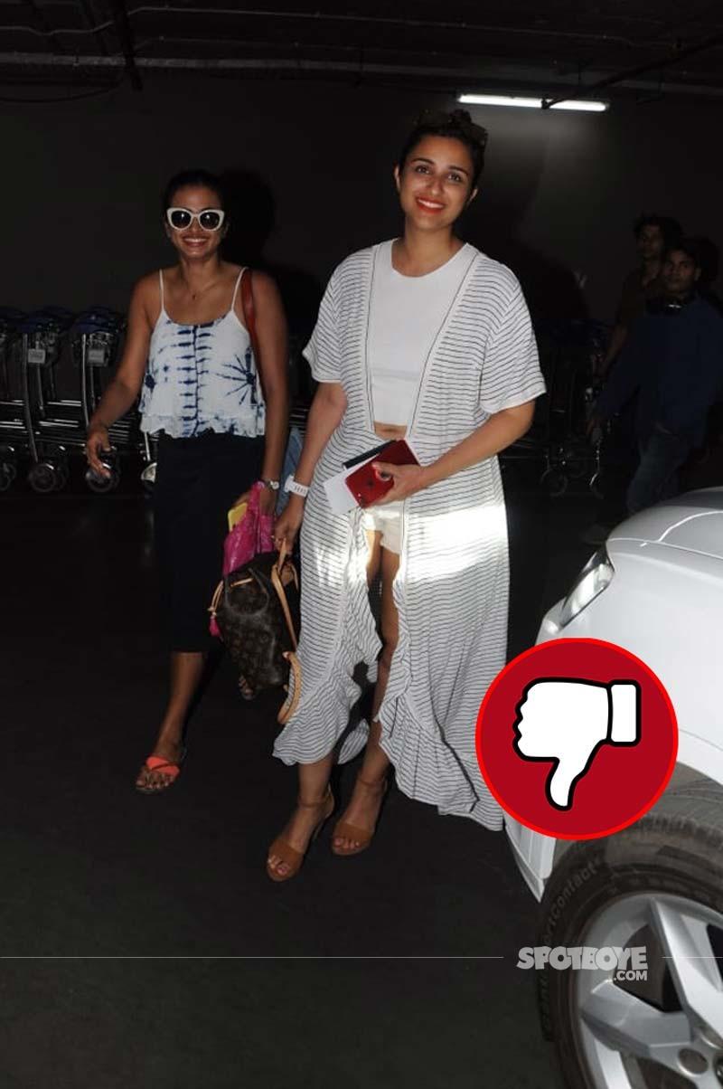 Parineeti Chopra Spotted At Mumbai Airport