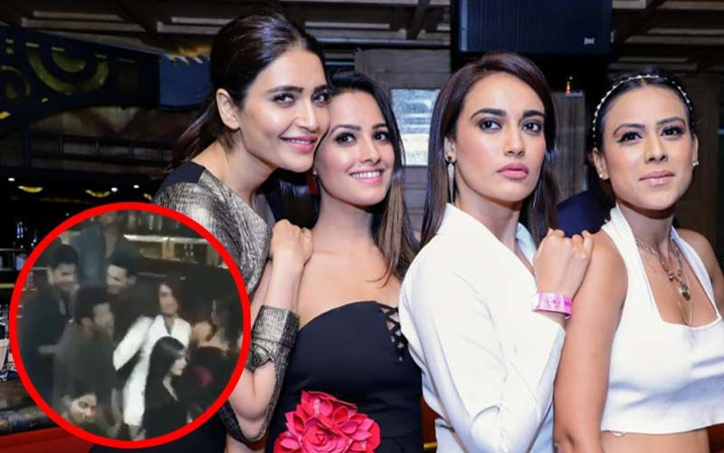 Pearl V Puri-Anita Hassanandani's Single Launch Party, Inside Videos: Surbhi Jyoti, Nia Sharma, Karishma Tanna Let Their Hair Down