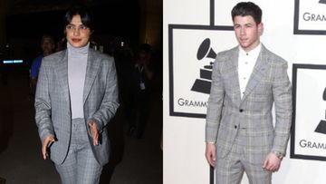Priyanka Chopra-Nick Jonas Are Couple Goals, Even When It Comes To Their Color-Coordinated Formal Wardrobe; We Have Proof