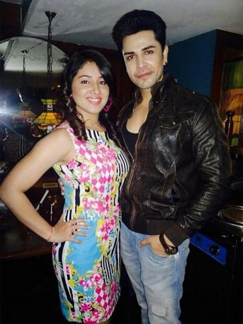 Piyush Sahdev With Wife