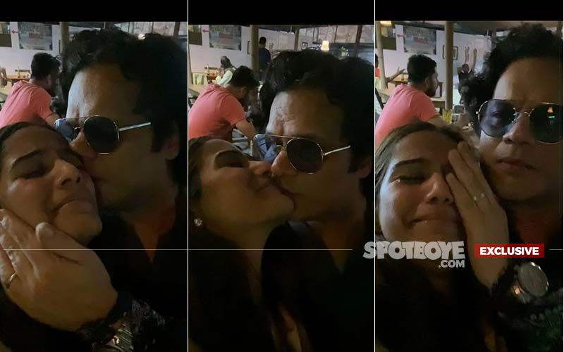 Poonam Pandey's EXCLUSIVE Kiss And Make Up Video: Actress Says, 'I Love My Husband'; Sam Bombay Adds, 'I Worship My Wife'