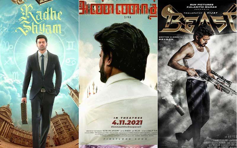 Rajinikanth's Annatthe, Prabhas' Radhe Shyam To Thalapathy Vijay's Beast, Films That Are Going To Break Box Office Records